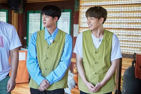 「一食ください〈BTS JIN&JUNG KOOK編〉」(c)JTBC co.,Ltd all rights reserved